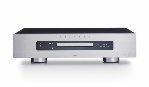 Primare CD35 CD player front titanium