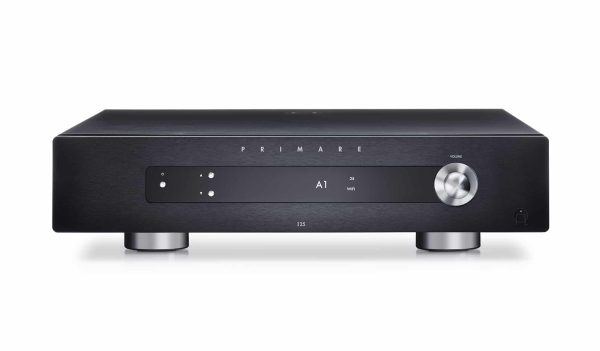 Primare I25 modular integrated amplifier front black
